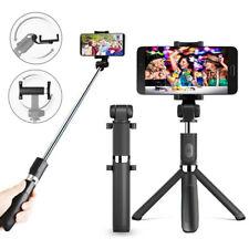 Wireless Selfie Stick Stange Ausziehbarer Stativ Selfiestick Für Samsung iPhone