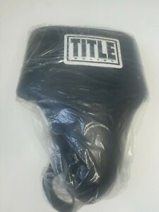 TITLE Deluxe Plus 2.0 MMA,UFC Performance Groin Protector Black Size L