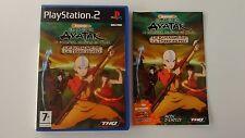 Avatar Le Dernier Maitre de l'air Le Royaume de la Terre de Feu Complet sur PS2