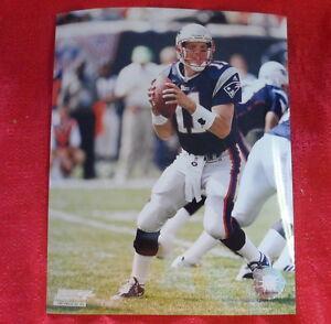 New England Patriots Drew Bledsoe 8x10 Photo NFL P2