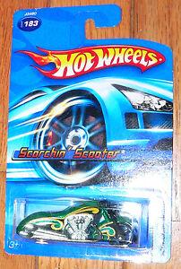 2006 Hot Wheels Scorchin' Scooter  #183
