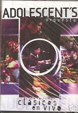 DVD ADOLESCENTES ORQUESTA 12 VIDEOS CD+DVD anhelo ARREPENTIDA persona ideal IMPR