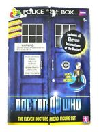 NEW Dr. Doctor Who Character Building The Eleven Doctors Micro Figure Set