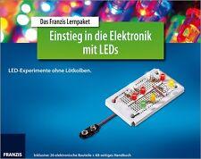 Das Franzis Lernpaket Einstieg in die Elektronik mit LEDs - Experimentierkasten