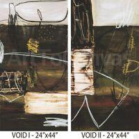 "VOID I (24W""x44H"") and VOID II (24W""x44H"") SET by WAYDE OWEN - 2PC CANVAS"