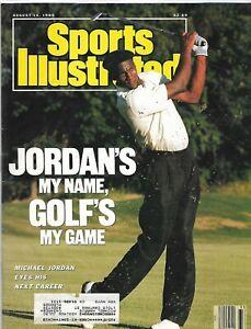 sports illustrated MICHAEL JORDAN, august 14, 1989