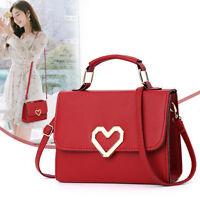 Fashion Women Leather Handbag Small Crossbody Shoulder Tote Messenger Purse Bags