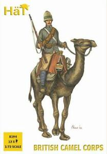 HäT/HaT Colonial Wars British Camel Corps 1/72 Scale 25mm