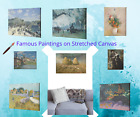 Famous Paintings on Stretched Canvas Print Ready To Hang. Wall Décor