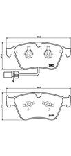 Bremsbelagsatz Scheibenbremse - Brembo P 05 003