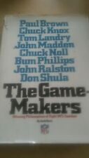 The Gamemakers: Winning Philosophies of 8 NFL Coaches by Jack Clary 1976 VINTAGE