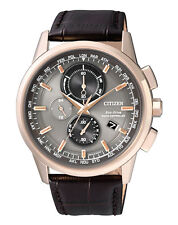 "CITIZEN ELEGANT CHRONO FUNK HERRENUHR ""AT8113-12H""   NEUWARE"