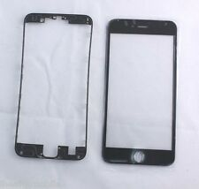 iPhone 6s plus Front Glass Frame Replacement Black US seller