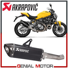 Exhaust Titanium Muffler Akrapovic for Ducati MONSTER 821 2017 > 2019