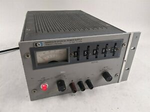 HP Keysight Harrison 6112A Current Voltage Adjustable Benchtop DC Power Supply