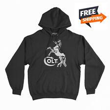 Colt Hooded Sweater 2nd Amendment Pro Gun Brand Hoodie Firearms Rifle Pistol #2
