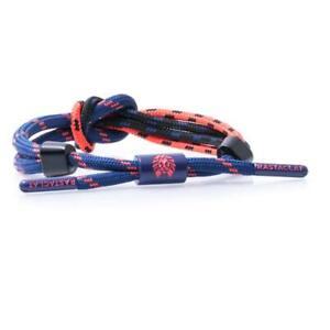 Rastaclat Duodess Blue Coral Knotted Urban Shoelace Bracelet Wristband 11200102