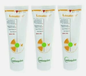 Vetoquinol Laxatone Tuna, Hairball Remedy for Cats 2.5 oz - 3 Pack