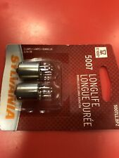 Sylvania Long Life - 2 Pack - 5007LL Light Bulb Engine Compartment Side zc