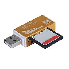 All In 1 USB 2.0 Multi Memory Card Reader for Micro SD SDHC TF M2 MMC MS PRO DUO