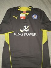 PUMA LEICESTER CITY AWAY JERSEY,LARGE,NWT