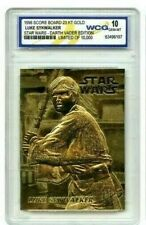 "STAR WARS ""LUKE SKYWALKER"" LIMITED EDITION GEM-MT 10 ""23 KT GOLD CARD! 1/10,000!"
