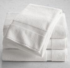 5 X 100% algodón egipcio toallas de baño de baño de toallas de mano blanco calidad de hotel