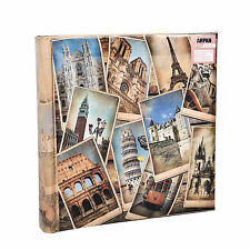 "Grandi vintage europeantravel MEMO Photo Album per 200 foto 4 ""x 6' - fb200"
