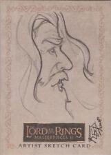 "Lord of the Rings Masterpieces II - Kate Bradley ""Gandalf"" Sketch Card"