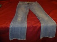Aeropostale Skinny Hailey Flare Jeans Women's Junior Size 7 / 8 RB 11143