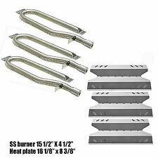 Members Mark BQ05046-6 Gas Grill Replacement Burner Heat Plate Parts Repair Kit