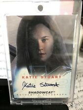 X-men 2 United Katie Stuart Shadowcat Auto Autograph Signed Card Topps