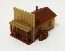 Outland Models Train Railway Layout Building Old West House / Shop N Scale 1:160