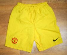 Nike Manchester United Pantalones Cortos de Portero (tamaño S)