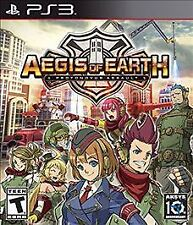 AEGIS OF EARTH:PROTONOVUS ASSAULT PS3 ACT NEW VIDEO GAME
