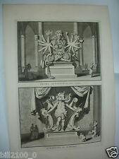 XVIIIé.gravure sur cuivre par Bernard Picard.Indes Orientales. Ixora . Quenevadi