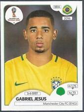 PANINI FIFA WORLD CUP-2018 RUSSIA- #370-BRAZIL & MANCHESTER CITY-GABRIEL JESUS
