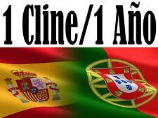 España y Europa ||CCcam & Newcamd|| ||no cortes estable||12 meses  prueba gratis