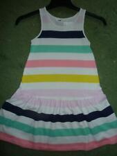 NEW 🔵 H&M Stripy Dress Age  4-6 6-8 Yrs 18-24m BNWT Next Season  100% Cotton