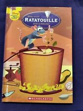 Ratatouille Disney Wonderful World of Reading 2007 HC Scholastic 1st Ed