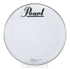 Pearl Bass Drum Logo Heads : 22 inch Coated with Reference Logo