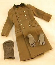 DiD Thomas WW2 German Heer Officer Greatcoat, Gloves, Touque 1/6 Scale