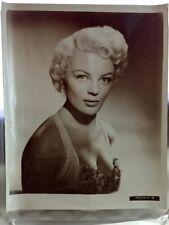 Vintage Original Blonde Beauty Sheree North 1950s Portrait Photograph