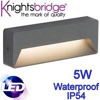 Led 5W Impermeabile IP54 Giardino Risparmio Energetico Montaggio per Superficie