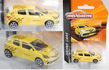 Majorette 212084009 Renault Clio IV r.s., amarillo, aprox. 1:64, Racing Cars
