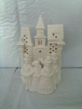 Partylite - Village Holiday Carolers - Tealight Candle House - #P0204