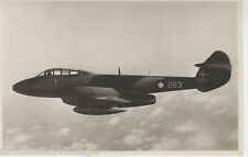 Postcard 1151 - Aircraft/Aviation Real Photo Gloster Meteor Trainer T. 7