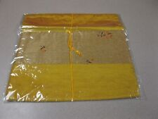 """Chinese Silk Satin Pillow Sham 16"""" X 16"""" - NEW"""