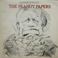 Elaine Stritch(Vinyl LP)The Peanut Papers-Electric-TRIX 5-UK-1977-Ex/NM