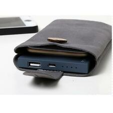 Soft Microfiber Sleeve Pouch Bag Cover Carry Case for Mobile Phones Powerbank !